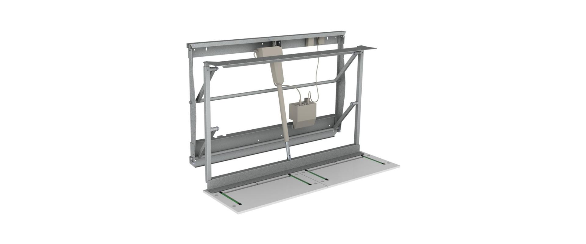 <b>TR3D Diagonallyftare för väggskåp bredd 120-180 cm</b>